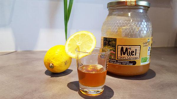 gommage sucre miel citron