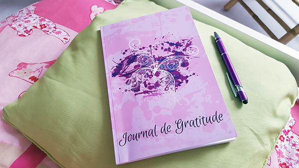 Le journal de gratitude pour ne garder que le positif de sa journée