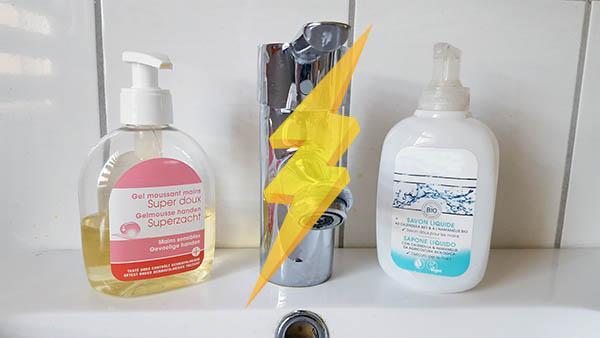 Fabuleux La battle de savon liquide lave-main : conventionnel contre bio IA96