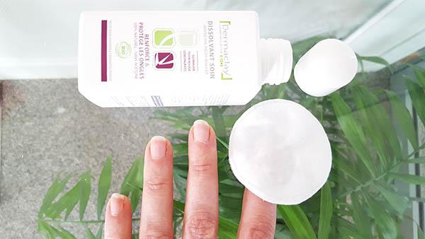 Le dissolvant bio Dermaclay : il démaquille les ongles et les soigne