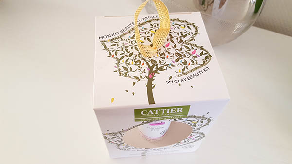 Le Kit beauté à l'argile de Cattier est composé de 4 soins cosmétiques bio